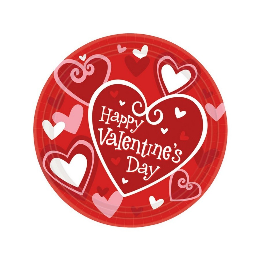 View larger image of Happy Valentines Day Dessert Plates (8)