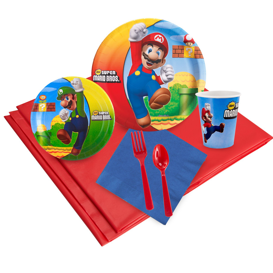 View larger image of Super Mario Bros. Party Pack for 24