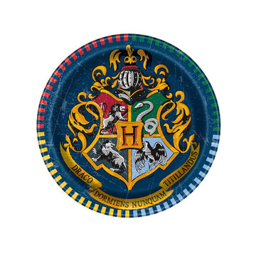 "Harry Potter 7"" Cake Plates (8 Count)"