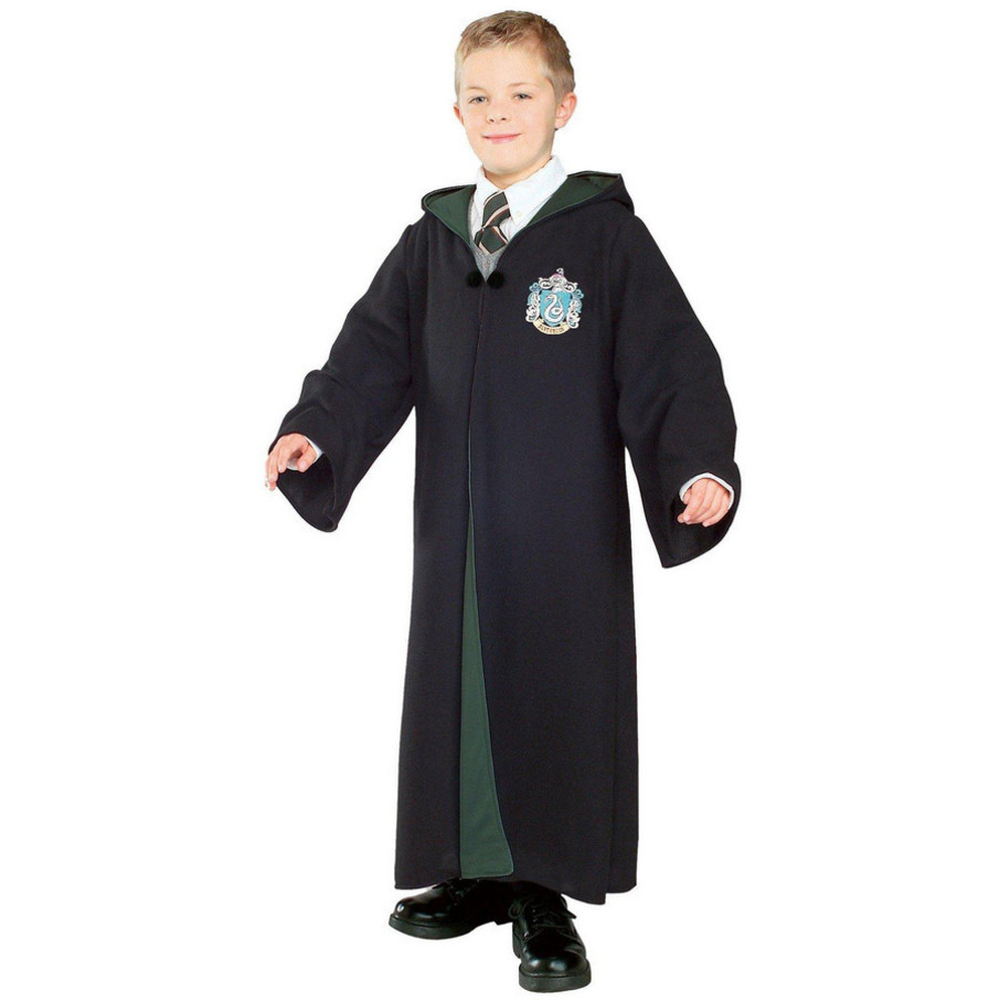 View larger image of Harry Potter - Deluxe Slytherin Robe Child Costume
