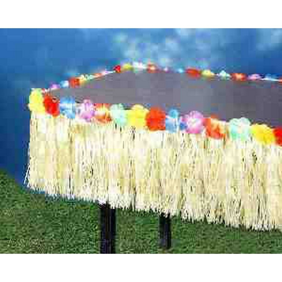 "View larger image of Hawaiian Grass 9' 12"" Table Fringe"
