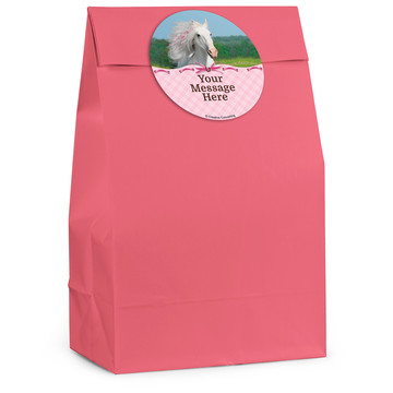 Heart My Horse Personalized Favor Bag (12 Pack)