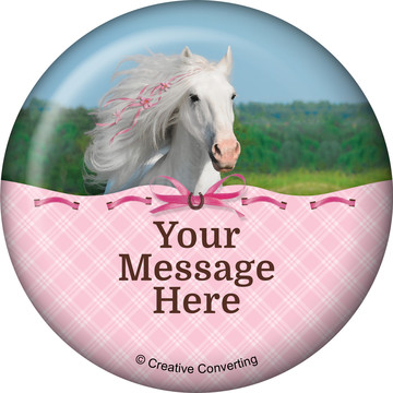 Heart My Horse Personalized Magnet (Each)