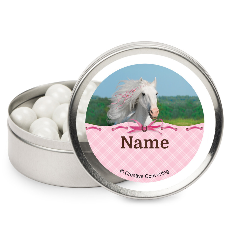 View larger image of Heart My Horse Personalized Mint Tins (12 Pack)