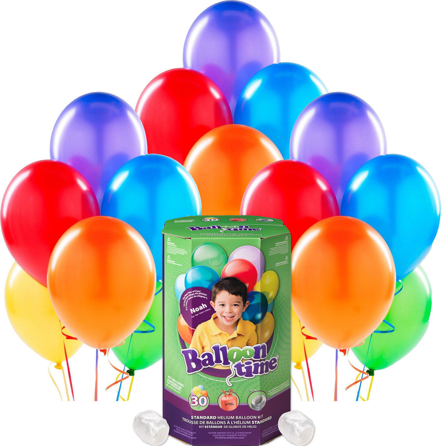 View larger image of Helium Tank with Multicolor Balloons