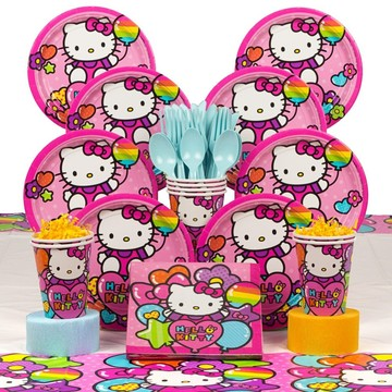 Hello Kitty Rainbow Deluxe Kit (Serves 8)