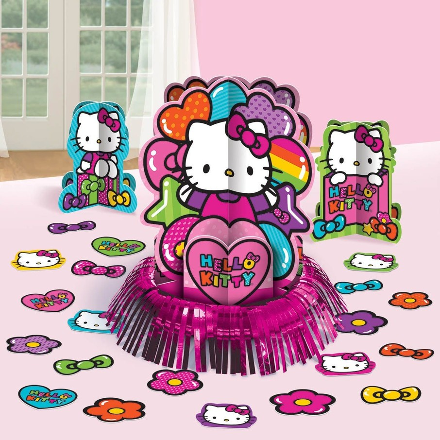 View larger image of Hello Kitty Rainbow Table Decorating Kit (Each)
