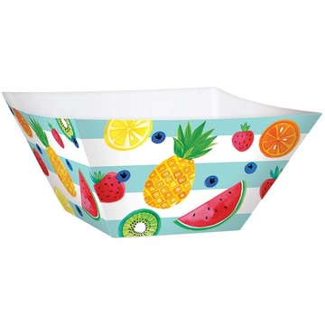 Hello Summer Large Square Paper Bowls (3)