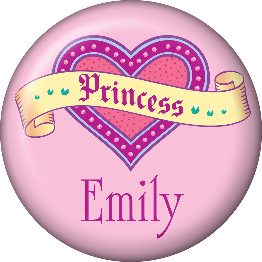View larger image of Her Royal Highness Personalized Mini Button (Each)