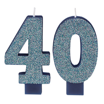 Here's to Your 40th Birthday Candle