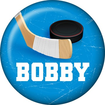 Hockey Party Personalized Mini Magnet (each)