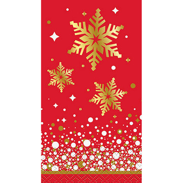 Holiday Snowflake Guest Towel (16)