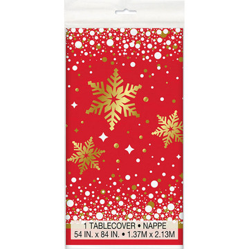 Holiday Snowflake Tablecover (1)