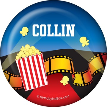 Hollywood Personalized Button (each)