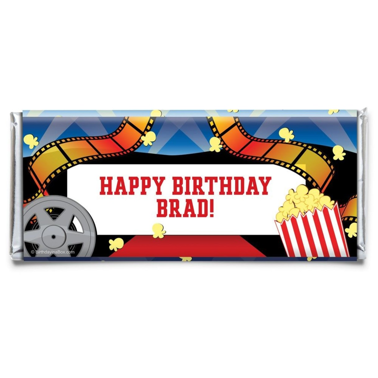 Hollywood Personalized Candy Bar Wrapper - Wholesale