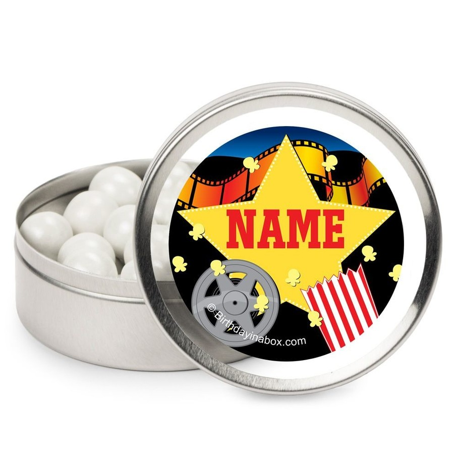View larger image of Hollywood Personalized Candy Tins (12 Pack)