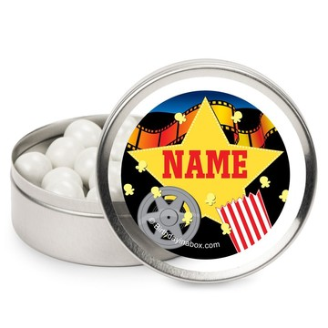 Hollywood Personalized Candy Tins (12 Pack)