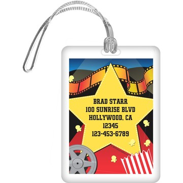 Hollywood Personalized Luggage Tag (each)