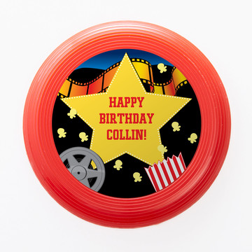 Hollywood Personalized Mini Discs (Set of 12)
