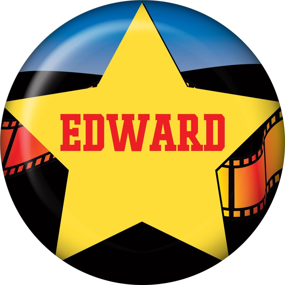 View larger image of Hollywood Personalized Mini Magnet (each)