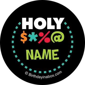 Holy Bleep Personalized Mini Stickers (Sheet of 24)