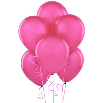 Hot Pink Latex Balloons