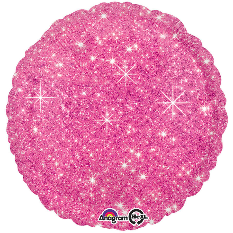 "View larger image of Hot Pink Sparkle 17"" Balloon"