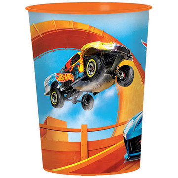 Hot Wheels Wild Racer 16oz Plastic Favor Cup