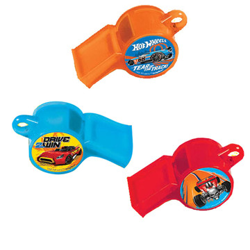 Hot Wheels Wild Racer Whistle Favors (12 Count)
