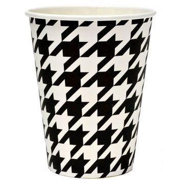 Houndstooth Party Cups (8)