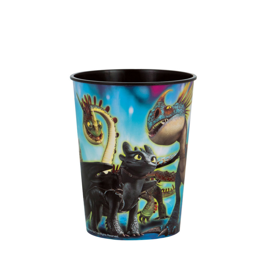 View larger image of How to Train Your Dragon 16oz Plastic Favor Cup (1)