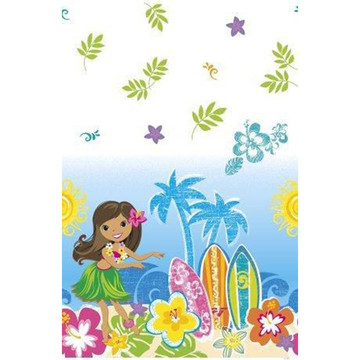 Hula Beach Party Plastic Table Cover (Each)