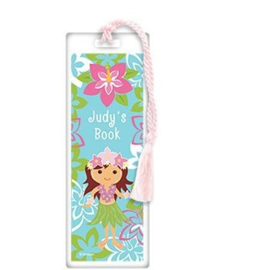 View larger image of Hula Girl Personalized Bookmark (each)