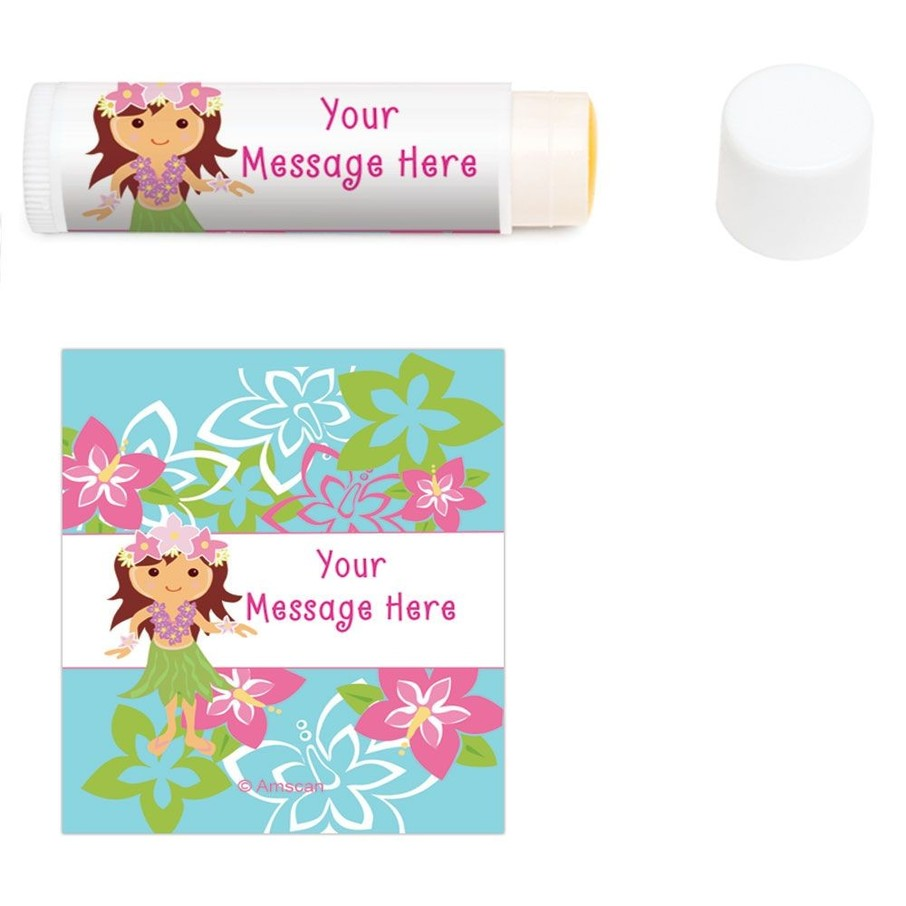 View larger image of Hula Girl Personalized Lip Balm (12 Pack)
