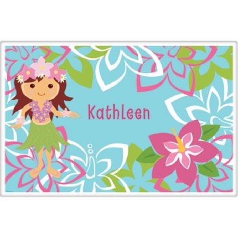 View larger image of Hula Girl Personalized Placemat (each)
