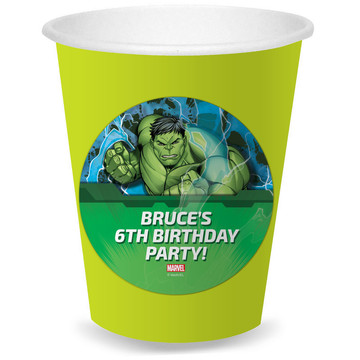 Hulk Personalized Cups (8)