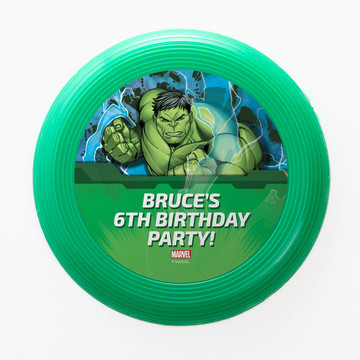 Hulk Personalized Mini Discs (Set Of 12)