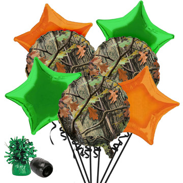 Hunting Camo Balloon Bouquet Kit