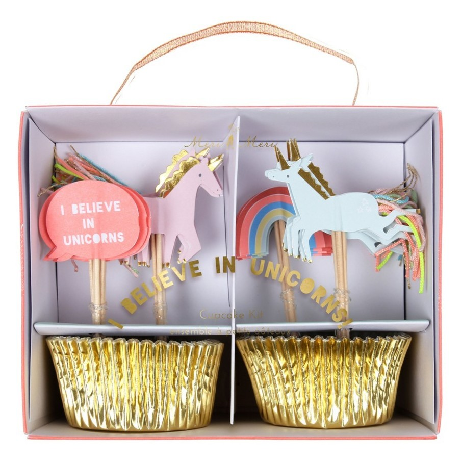 View larger image of I Believe in Unicorns Cupcake Kit, 24ct