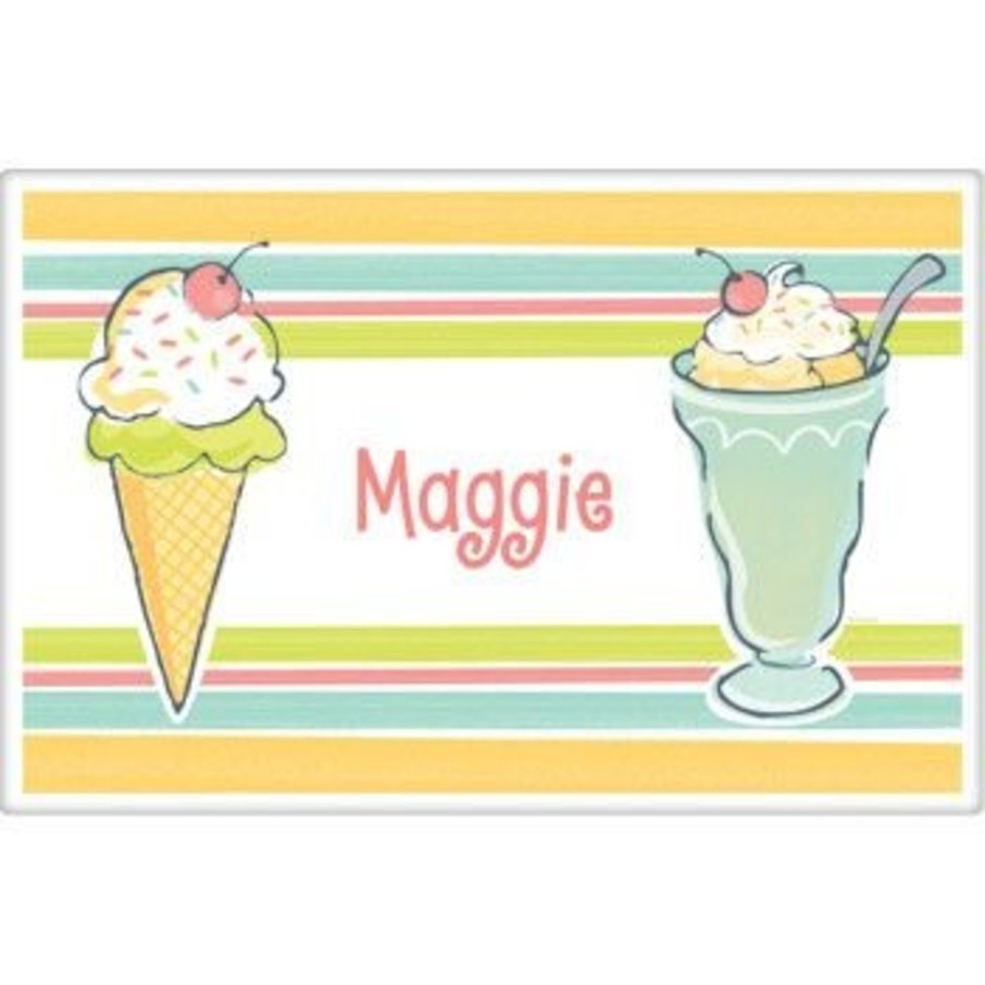 View larger image of Ice Cream Party Personalized Placemat (each)