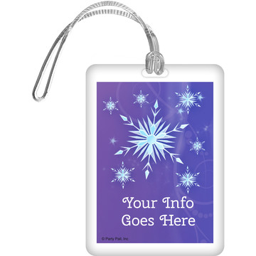 Ice Princess Personalized Bag Tag (Each)