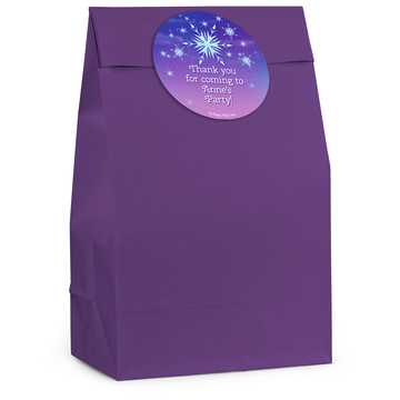 Ice Princess Personalized Favor Bag (12 Pack)