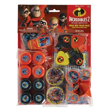 Incredibles 2 Favor Pack (48 Pieces)
