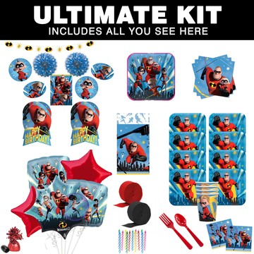Incredibles 2 Ultimate Tableware Kit (Serves 8)