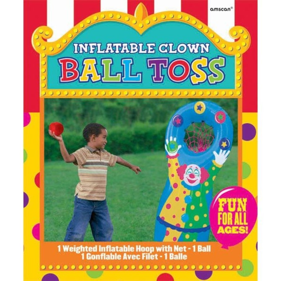 View larger image of Inflatable Ball Toss Game (Each)