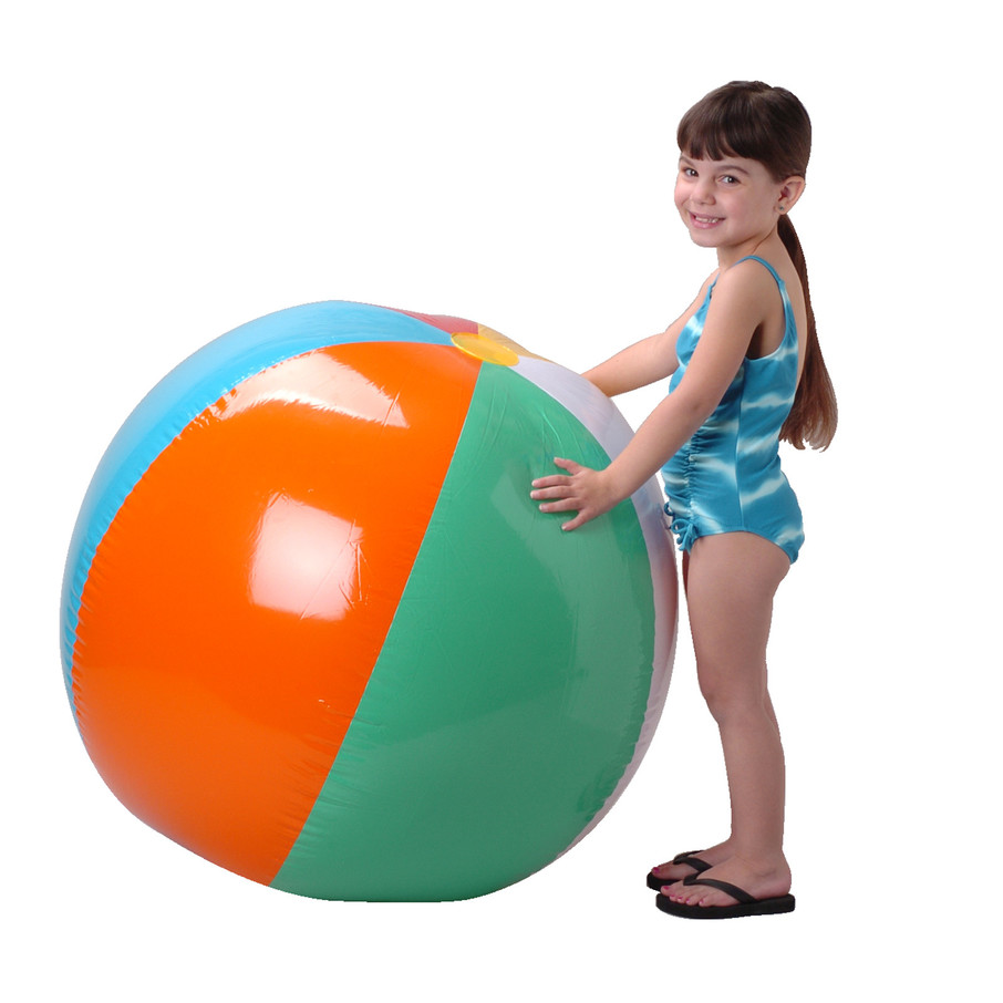 """View larger image of Inflatable Beach Ball 48"""""""