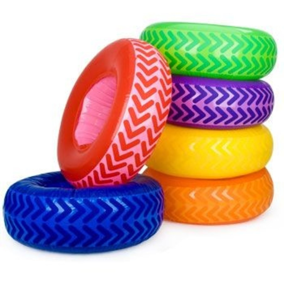 View larger image of Inflatable Tire Obstacle Course (6-set)