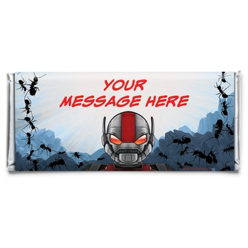 Insect Man Personalized Candy Bar Wrapper (Each)