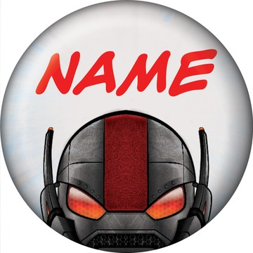 Insect Man Personalized Mini Button (Each)