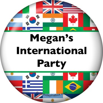 International Personalized Magnet (Each)